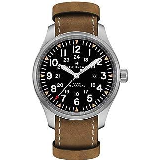 Reloj HAMILTON Reloj Analógico-Digital para Adultos Unisex de Cuarzo con Correa en Aleación 1