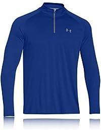Under Armour UA Tech 1/4 Zip, Sudadera para Hombre, Azul (Royal), S
