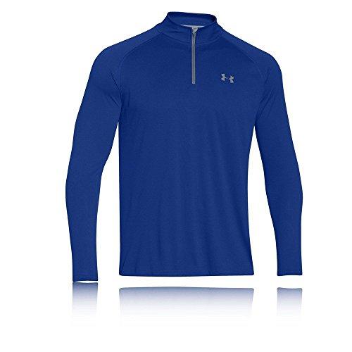 Under Armour Herren Fitness Sweatshirt UA Tech 1/4 Zip, Blau Royal, S, 1242220-402