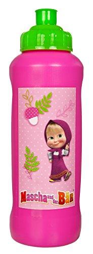Undercover Kindergartentasche, Mascha und der Bär Sportflasche 450 ml