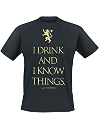 Game of Thrones I Drink and I Know Things T-Shirt Black
