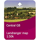 Satmap Great Britain 1:50000 Central SD Map