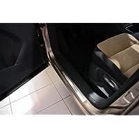 Exclusive acciaio inox set battitacco per VW Tiguan 2007-2015
