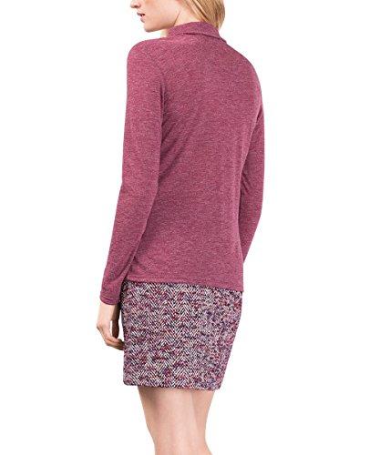 ESPRIT Collection Damen Langarmshirt Rot (bordeaux Red 600)