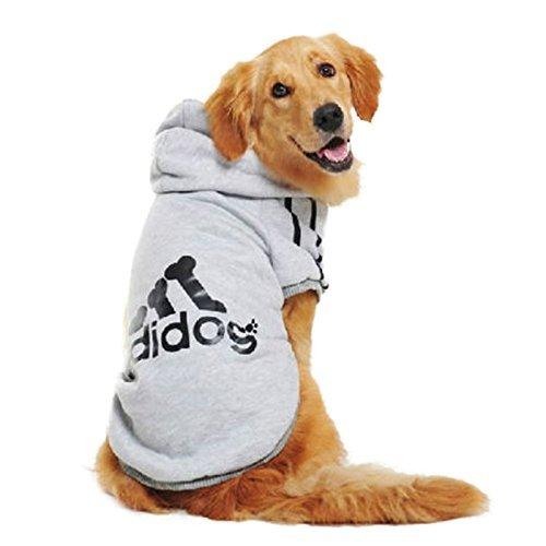 Winter Casual Hundemantel Adidog Hunde Kleidung Warm Hoodie Mantel Jacke Kleidung für Hunde
