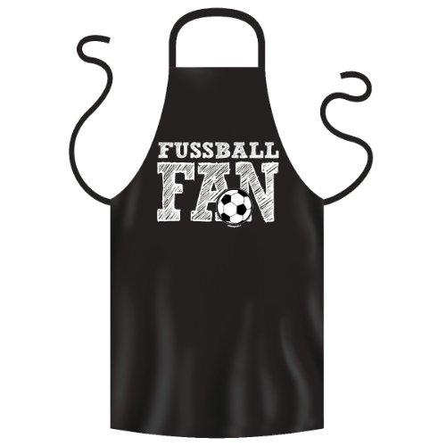 bedruckte Fussball Fan Grillschürze Fußball - Jahre Geschenk Grill Schürze Kochschürze Latzschürze Partyschürze Küche