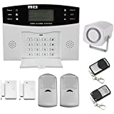 Discoball® LCD Security House Alarm System Wireless Mobile SMS GSM Autodial Home House Burglar Intruder Alarm