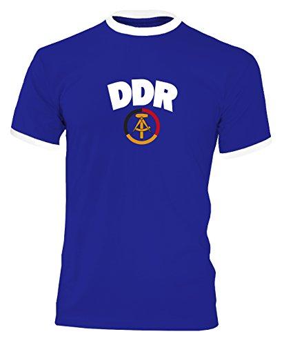 DDR Retro Shirt Trikot WM 1974