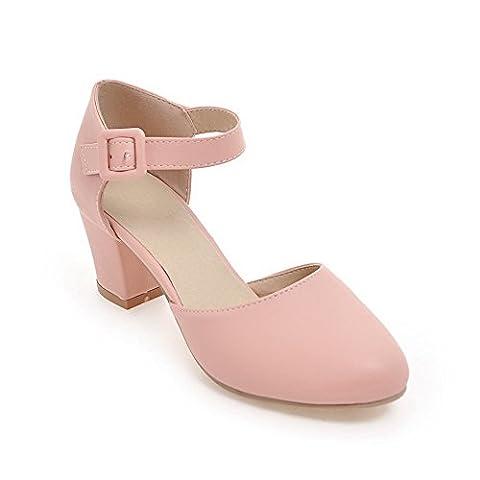 BalaMasa , Sandales Compensées femme - rose - rose,