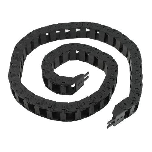 15mm x 20mm semi flexible Blindée Corde chaîne Drag Carrier 100cm