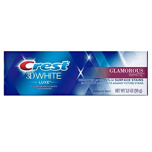 3d Crest 3d White (Crest 3D White Glamorous White Vibrant Mint- Whitening Zahnpasta, 3.5 oz - 99 g)