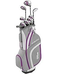 WILSON Damen Stretch XL Tasche Mit Golfschlägern
