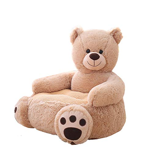 Kaliya Plüsch Kinder Elefant Sofasitz Kinderstuhl Sessel Tier Bequemer Sofasitz (Bear)