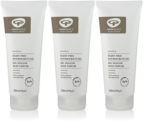 (3 PACK) - Green People - Neutral Scent Free Shower Gel | 200ml | 3 PACK BUNDLE by Green People