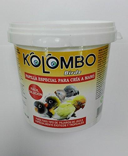 Papilla embuchar aves exoticas tropicales KOLOMBO