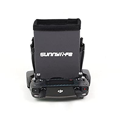 Fascinated Drone 5.5in Remote Controller Sunhood All-surround Smartphone Sunshade with Lanyard Strap for DJI MAVIC PRO