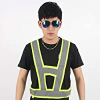 Safety vests LQ Special Reflective Vest For Riding, Traffic Warning Suit, Reflective Vest, Summer Warning Suit Breathable