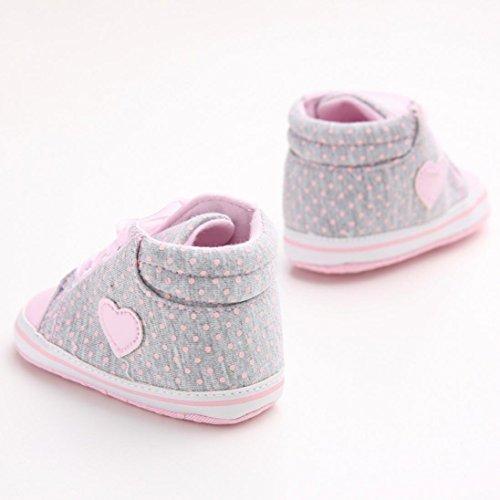 Xmansky Grau Schuhe Gehen Anti Monat 18 Unisex Alleinig rutsch Segeltuch Sohle Mädchen Kinder Erstes Baby Grau Kleinkind Weich 12 Einzig Sneaker Jungen rXrwgRq