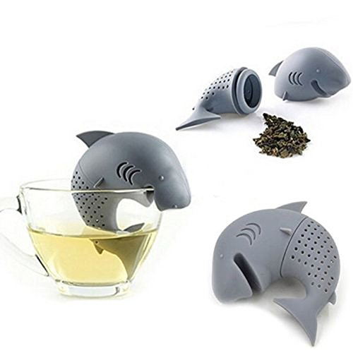 Sieb Netz Ball (Teehai Teemännchen, Mr Tea für losen Tee, Krümeltee,Teesieb, Wal Teeei, Tee Ei, von Kobert Goods)