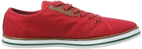 Northland Professional Tiera Halbschuhe, Peu femme Rouge - Rot (Red 0)