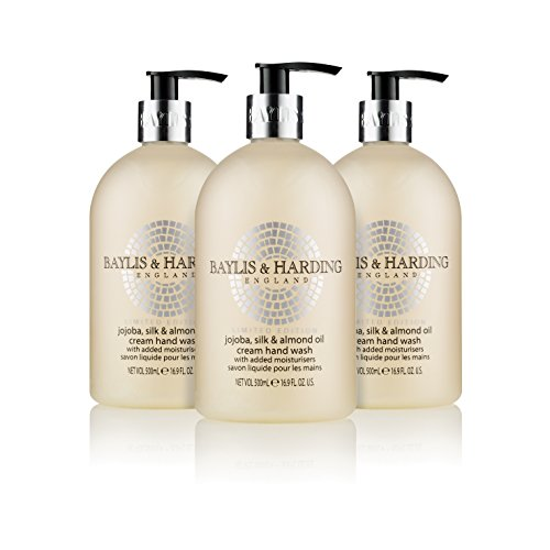 Baylis & Harding Jojoba, Silk & Almond Oil Hand Wash, 500 ml, Pack of 3