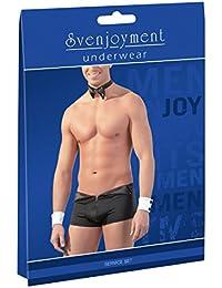 Svenjoyment Tenue Sexy de Serveur Dessous Homme Taille M