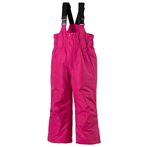 McKinley Kinder Winter Skihose Ray Buddelhose Ski Hose Wintersporthose, Größe:140, Farbe:Pink