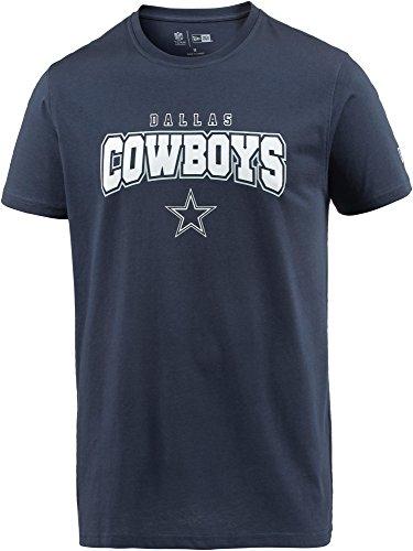 New Era Herren T-Shirt blau L