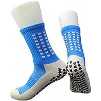 PreSox - Calcetines deportivos unisex para béisbol, occer, fútbol, Talla única, azul, (Dull Blue)