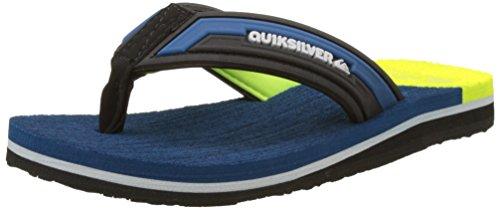 Quiksilver Molokai New Wav, Tongs Garçon Multicolore (BLUE/YELLOW/BLUE)