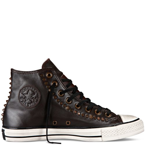 Converse Chuck Taylor All Star Core Lea Hi, Baskets mode mixte adulte Mole
