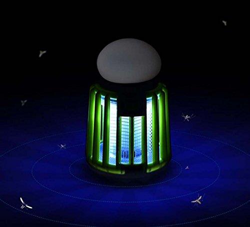 GAOYUN Elektrische Moskito-Lampe, Beleuchtung im Freien wasserdichte Moskito-Lampe, 8,0 Cm * 8,0 Cm * 13,0 Cm