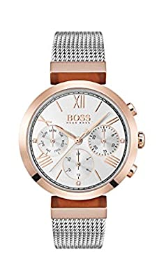 Hugo BOSS Womens Analogue Classic Quartz Watch with Stainless Steel Strap 1502427