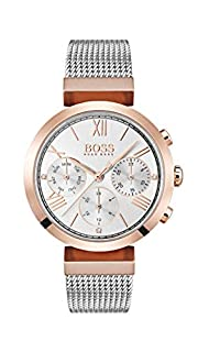 Hugo Boss Womens Analogue Classic Quartz Watch with Stainless Steel Strap 1502427 (B07B11SKHS) | Amazon price tracker / tracking, Amazon price history charts, Amazon price watches, Amazon price drop alerts