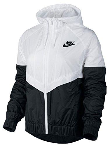 Nike Windrunner Veste pour femme Blanco / Negro (White/Black/Black)