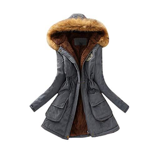 Damen Winter Parka Hoodies Trenchcoat Starke Kapuze Mantel Jacke Wintermantel Lange...