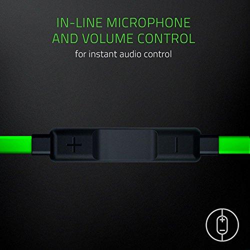 Razer Hammerhead USB-C Gaming In-Ear Kopfhörer (mit USB-C Anschluss, geeignet für das Razer Phone) grün - 6