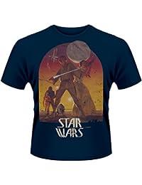 Plastic Head Star Wars Sunset Poster Men's T-Shirt