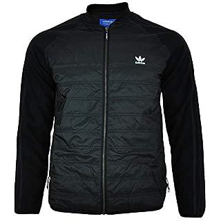 adidas Originals Mens Mens SST Thermal Jacket in Black - M