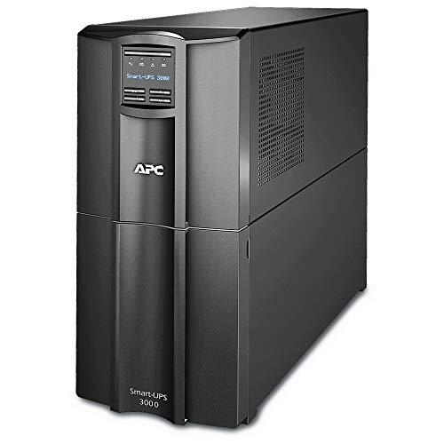APC Smart-UPS SMT-SmartConnect - SMT3000IC - Unterbrechungsfreie Stromversorgung 3.000VA (Cloud-monitoring fähig, 8 Ausgänge IEC-C13) -