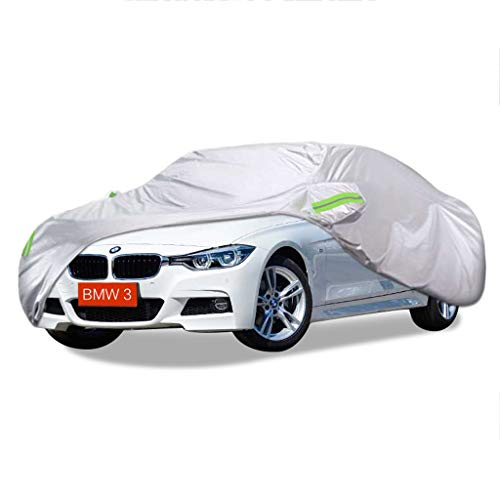 SXET-Car Cover Car Cover Windshield Dust Cover UV Protection BMW 3 Special Series Oxford Waterproof Fabric Scratch Proof Rain Snow Car Cover