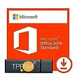 Microsoft® Office 2019 Standard 32 bit & 64 bit - Original Lizenzschlüssel mit USB Stick von - TPFNet®