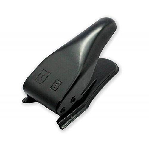 Techly Cutter from SIM Card to Micro SIM / Nano SIM I-SIM-DUAL - handheld device accessories (Black)