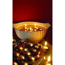 Vela gomets. Velas flotantes, no muy grandes, perfectas para un bol de cristal. Vela navideña que puedes escoger en dorado o plata. Velas lisas. Medidas de la vela flotante o vela navideña gomets 4,3 x 3 cm de alto. (Dorado)