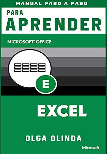 Manual Paso a Paso para aprender Excel: MICROSOFT  OFFICE (Spanish Edition)