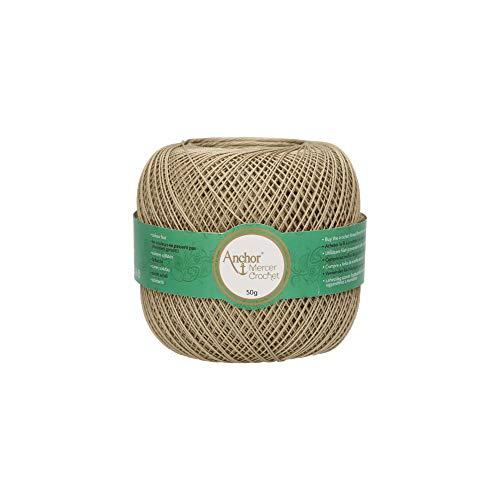 Anchor artiste mercer crochet - 20 filati per uncinetto, 100% cotone, 831, 7,2cm x 7,2cm x 6,4cm