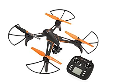 zoopa Phoenix Hd Drone with HD Camera & Image Stabilisation–Black/Orange–GIMBEL Charging and Fly