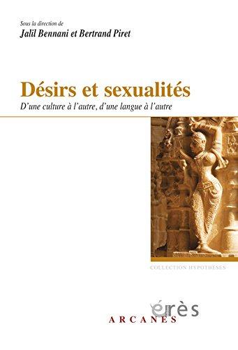 Dsirs et sexualits : D'une culture  l'autre, d'une langue  l'autre