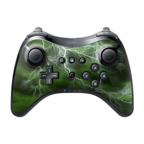 DecalGirl Nintendo Wii U Pro Controller Skin Aufkleber Design Sticker - Apocalypse Green