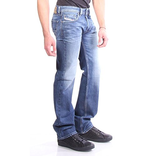 Diesel Zatiny Pantaloni, Jean Coupe Bootcut Homme Toile